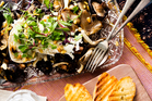 Recipe: Warm wild mushroom and goat's cheese salad