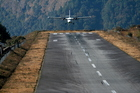 Brace yourself when you descend on Nepal's Lukla Airstrip. Photo / Thinkstock