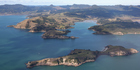 Coromandel Peninsular From the Air