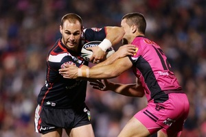 Is Simon Mannering the right choice as Warriors captain? Photo / Getty Images