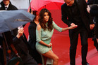 Actress Eva Longoria experienced an embarrassing wardobe mishap on the red carpet of the 66th Annual Cannes Film Festival. Photo / Getty Images