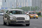 2013 Bentley Flying Spur launch China. Photo / Supplied