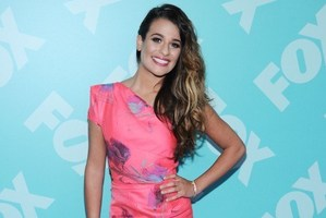 Actress Lea Michele has landed a deal to write 'Brunette Ambition'. Photo / AFP