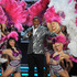 Host Tracy Morgan, center, performs at the Billboard Music Awards. Photo / AP