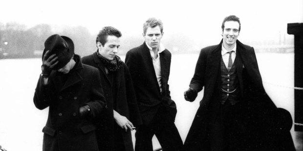 L to R: Topper Headon, Jow Strummer, Paul Simonon & Mick Jones. Photo / Supplied