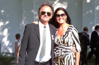 Bogdan Kominowski with his fiancee, Joanna Rowley. Photo / Supplied