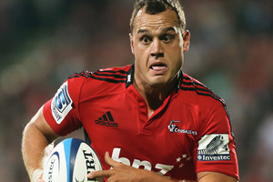 All Blacks fullback Israel Dagg has been recalled to the Crusaders starting XV for Friday night's clash against the Chiefs in Hamilton. Photo / Getty Images.