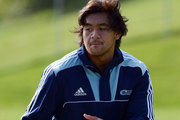 The Blues have lost in-form blindside flanker Steven Luatua for their critical Super 15 clash with the Brumbies on Saturday. Photo / Getty Images.