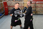 Matthew Wood, left, and Colin Lane will square off in an upcoming boxing match. Photo/Duco Events