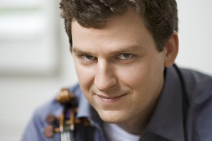 Auckland Philharmonia Orchestra: violinist James Ehnes. Photo / Benjamin Ealovega