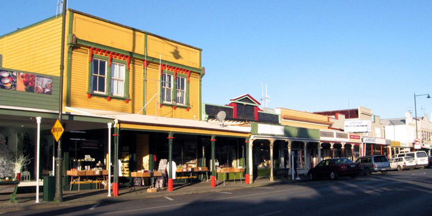 The town of Thames on the Coromandel Peninsula. Photo / Supplied