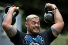 Mark Hunt says he considers himself a Southern Hemisphere pioneer in the world of UFC. Photo / Brett Phibbs