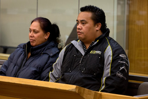 Roseanne Randell (left) and Paraone Tamihana were each found guilty of 20 charges of obtaining by deception.  Photo / Brett Phibbs