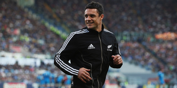 All Black Dan Carter. Photo / Getty images