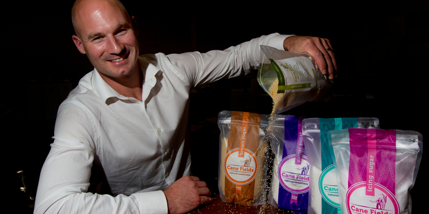 Co-founder Hamish Gordon says the firm is trying to achieve a point of difference in packaging. Photo / Sarah Ivey