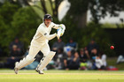 Brendon McCullum is no stranger to batting out of his crease.  Photo / Getty Images