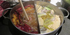 Budaoweng hot pot restaurant in Hong Kong. Photo / Shandelle Battersby