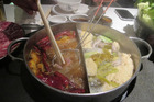 Budaoweng hot pot restaurant in Hong Kong. Photo / Shandelle Battersby