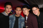 Boy band Moorhouse. Photo / Norrie Montgomery