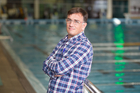 Luis Villanueva believes swimmers should be constantly improving. Photo / Richard Robinson