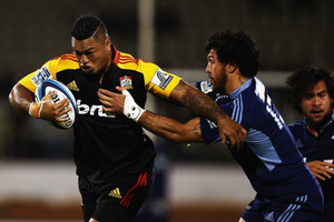 Hika Elliot (left) believes the Chiefs can hold their own tonight. Photo / Getty Images
