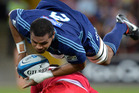 Blues No8 Peter Saili has shown steady progress. Photo / Getty Images