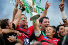 The star-laden Toulon team is eyeing a rare double after winning the Heineken Cup last weekend. Photo / Getty Images