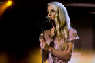 Anna Wilson sang Fleetwood Mac's Landslide in her X Factor spot last night. Photo / Dean Purcell