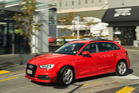 Audi's A3 Sportback is lighter, looks longer and comes with high-specced toys inside.  Photo / Ted Baghurst