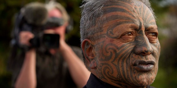 Tame Iti says he holds former Prime Minister Helen Clark responsible for the impact the Urewera raids have had on Tuhoe. Photo / Alan Gibson