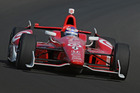 Scott Dixon during practice for 2013 Indy 500. Photo / IndyCar
