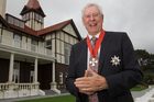 Sir Bob Harvey was among 50 Kiwis honoured at Government House in Wellington yesterday. Photo / Mark Mitchell