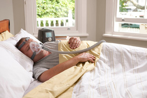 F&P Healthcare's Icon+ sleep apnea treatment device has helped give the company more pricing power. Photo / Supplied
