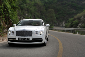 Bentley's new generation Flying Spur comes with a dash more comfort focus. Photo / Supplied