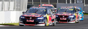 The return of V8 Supercars racing to Pukekohe last month resulted in fewer spectators and visitor nights than hoped. Photo / Getty Images