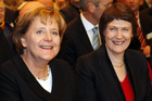 Helen Clark is among the 100 most powerful women in the world, along with German Chancellor Angela Merkel. Photo / AP