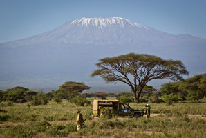 I'm climbing Mt Kilimanjaro to raise money for World Vision.  Photo / AP