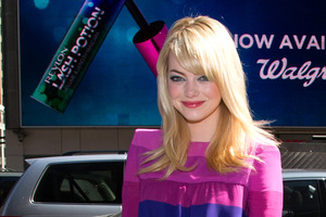 Emma Stone says she was 'terrified' when her mother was diagnosed with cancer. Photo / AP
