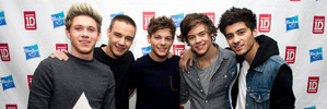 One Direction, from left, Niall Horan, Liam Payne, Louis Tomlinson, Harry Styles and Zayn Malik. Photo / AP