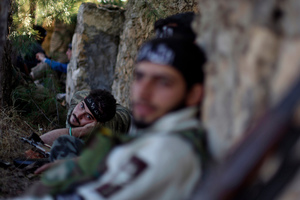 Lack of unity among rebel fighters has characterised the armed conflict in Syria from the start. Photo / AP
