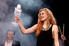 Winner of the 2013 Eurovision Song Contest Emmelie de Forest of Denmark. Photo / AP