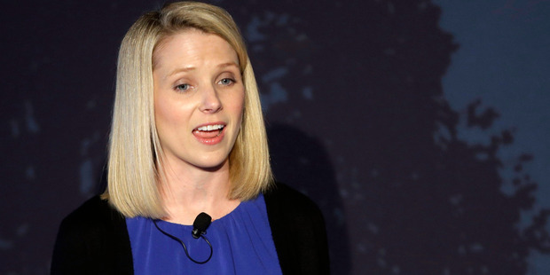 "Yahoo chief executive Marissa Mayer says buying Tumblr ""is a game changer"". Photo / AP"