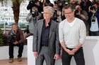 Top-line heterosexuals Michael Douglas and Matt Damon play Liberace and his lover. Photo / AP