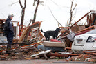 Questions are being raised as to whether more could have been done to prepare for the storm.  Photo / AP