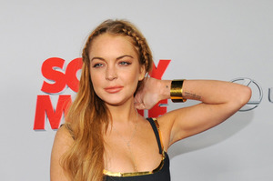 Lindsay Lohan. Photo / AP