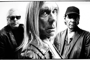 Iggy & the Stooges might make more music together again, says singer Iggy Pop (centre). Photo / Supplied