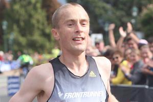 Sam Wreford's Rotorua marathon win gave him an impressive three titles from three consecutive runs. Photo / APN