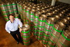Independent Liquor chief executive Julian Davidson. The company brews international beer brands Carlsberg and Kingfisher, and its own Boundary Road Craft range. Photo / Steven McNicholl