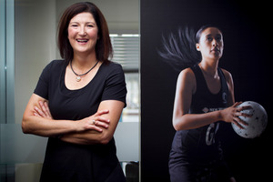 New Silver Ferns assistant coach Vicki Wilson. Photo / Natalie Slade