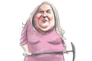 Gina Rinehart - Australia's richest woman. Image / Rod Emmerson
